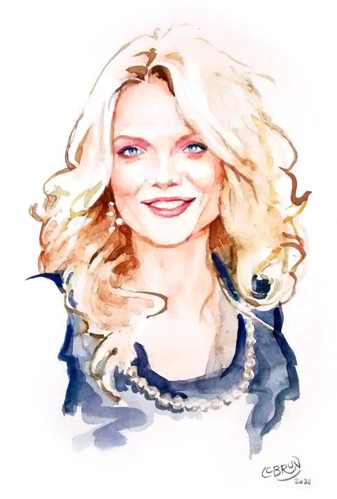 Michelle Pfeiffer par Lebrun